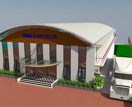 Xây dựng nhà kết cấu thép – công ty Đông Á HTP