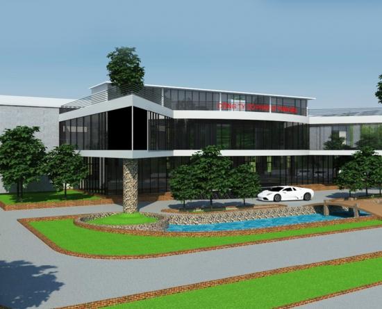 Dự án: Xây dựng khu văn phòng Công ty CP CF Toàn Cầu Ninh Bình