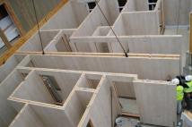 Tấm panel thạch cao lõi bông thủy tinh – vật liệu xây dựng xanh