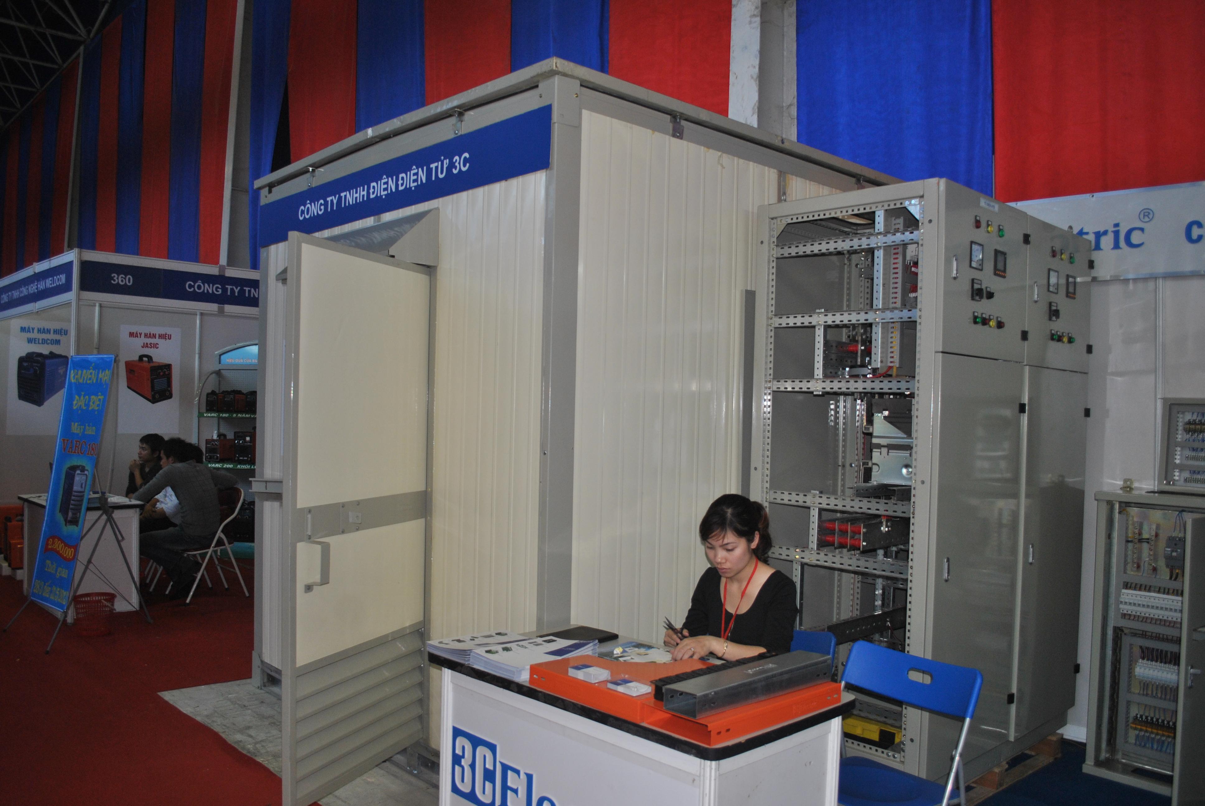 3C Electric tham dự triển lãm quốc tế Vietbuild 2013