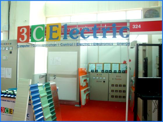 3C Electric tham gia triển lãm Quốc tế Vietbuild Đà Nẵng 2014