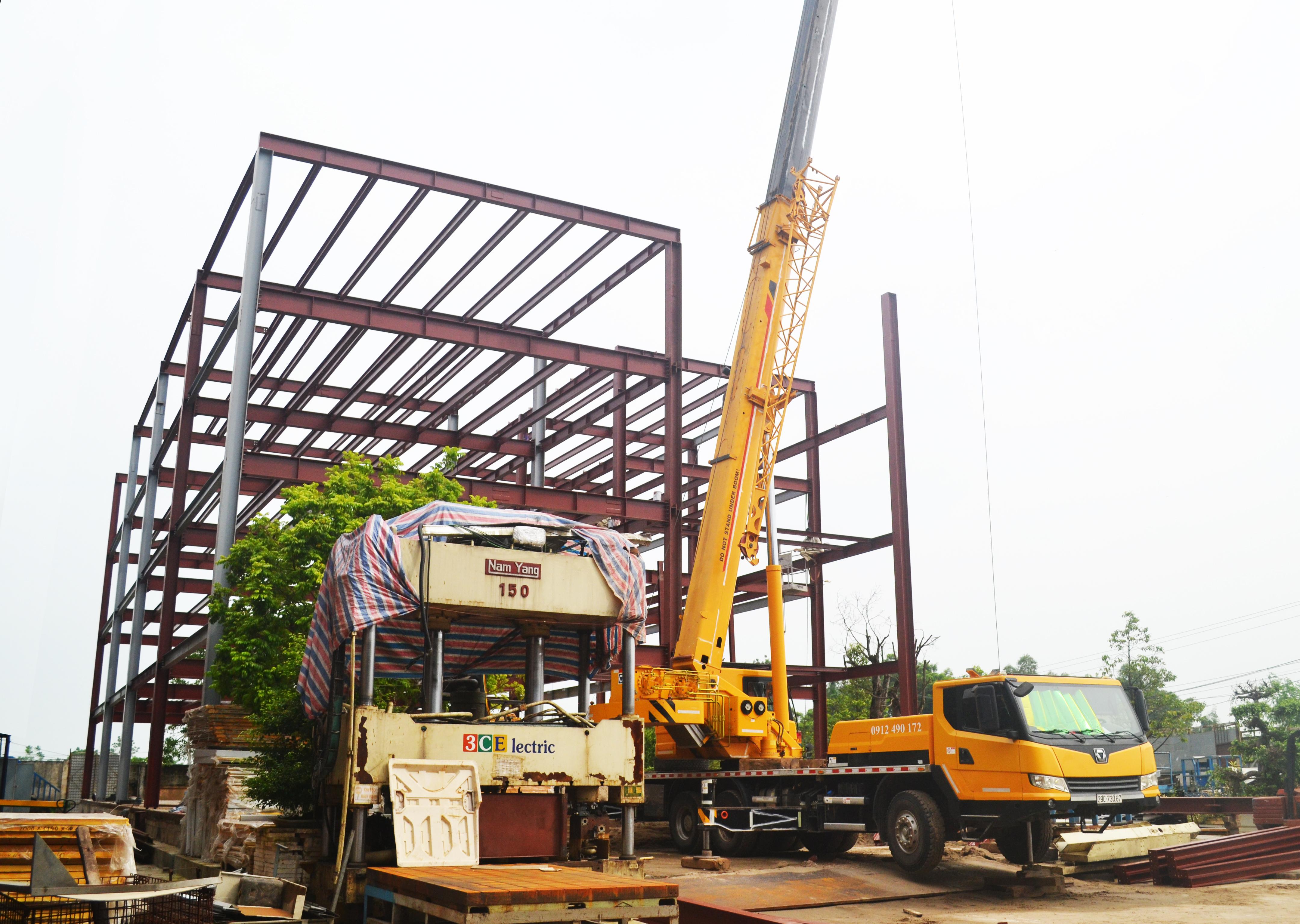 Xây dựng văn phòng – 3CElectric tại Thạch Thất