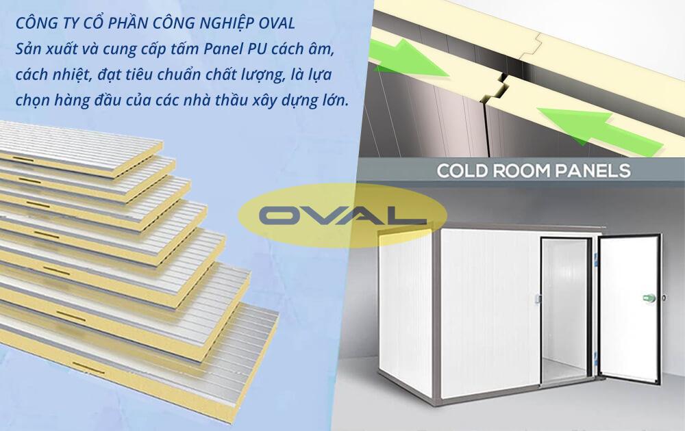 Oval sản xuất và cung cấp tấm Panel PU giá cạnh tranh