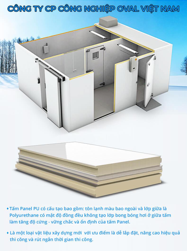 Oval sản xuất và cung cấp tấm Panel PU
