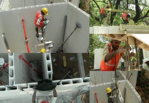 tấm Panel thạch cao vật liệu xây dựng xanh