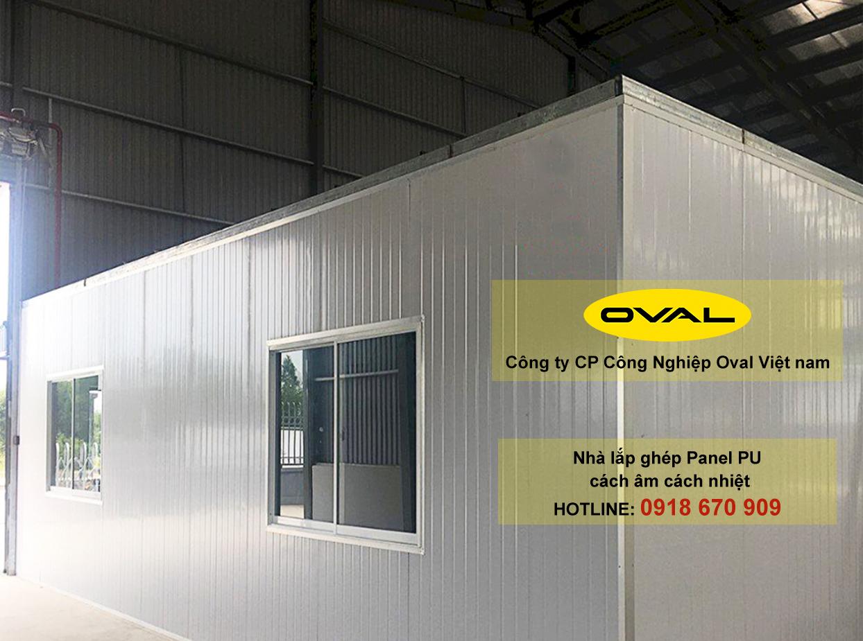 Ứng dụng tấm Panel PU làm nhà lắp ghép