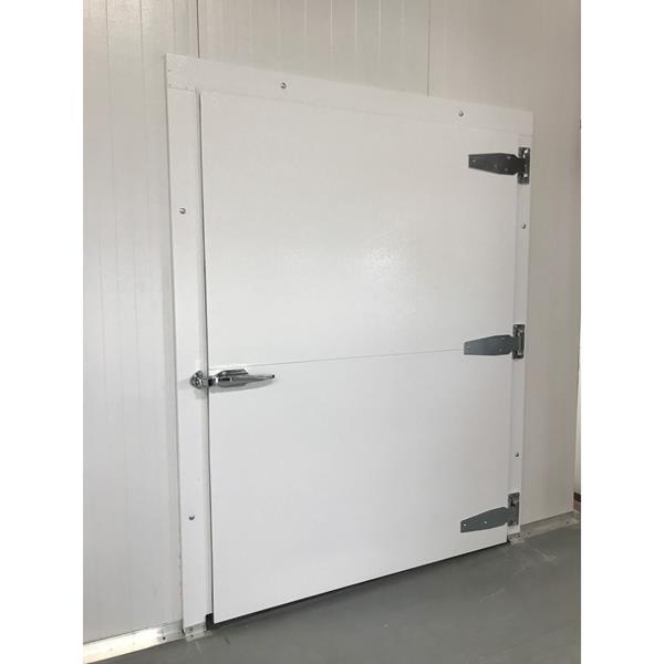 Lưu ý đối với lắp đặt cửa panel PU