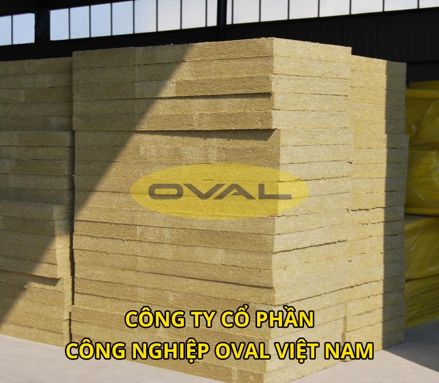 Bông khoáng Rockwool do Oval phân phối có chất lượng tốt mẫu mã đẹp