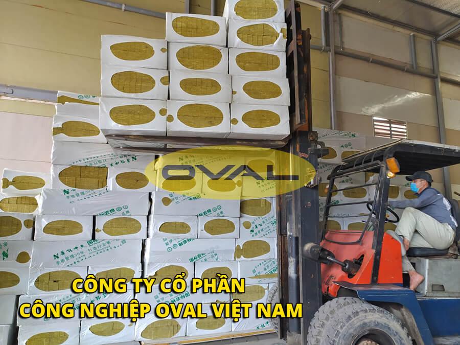 Bông khoáng chất lượng tốt do Oval phân phối