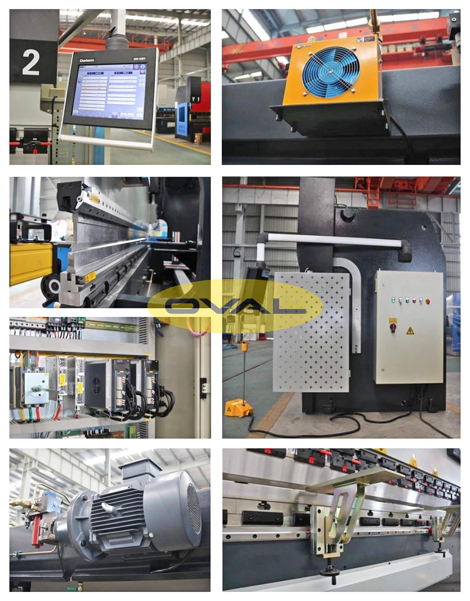 một số hình ảnh về máy chấn thuỷ lực CNC MB8 – DA58T