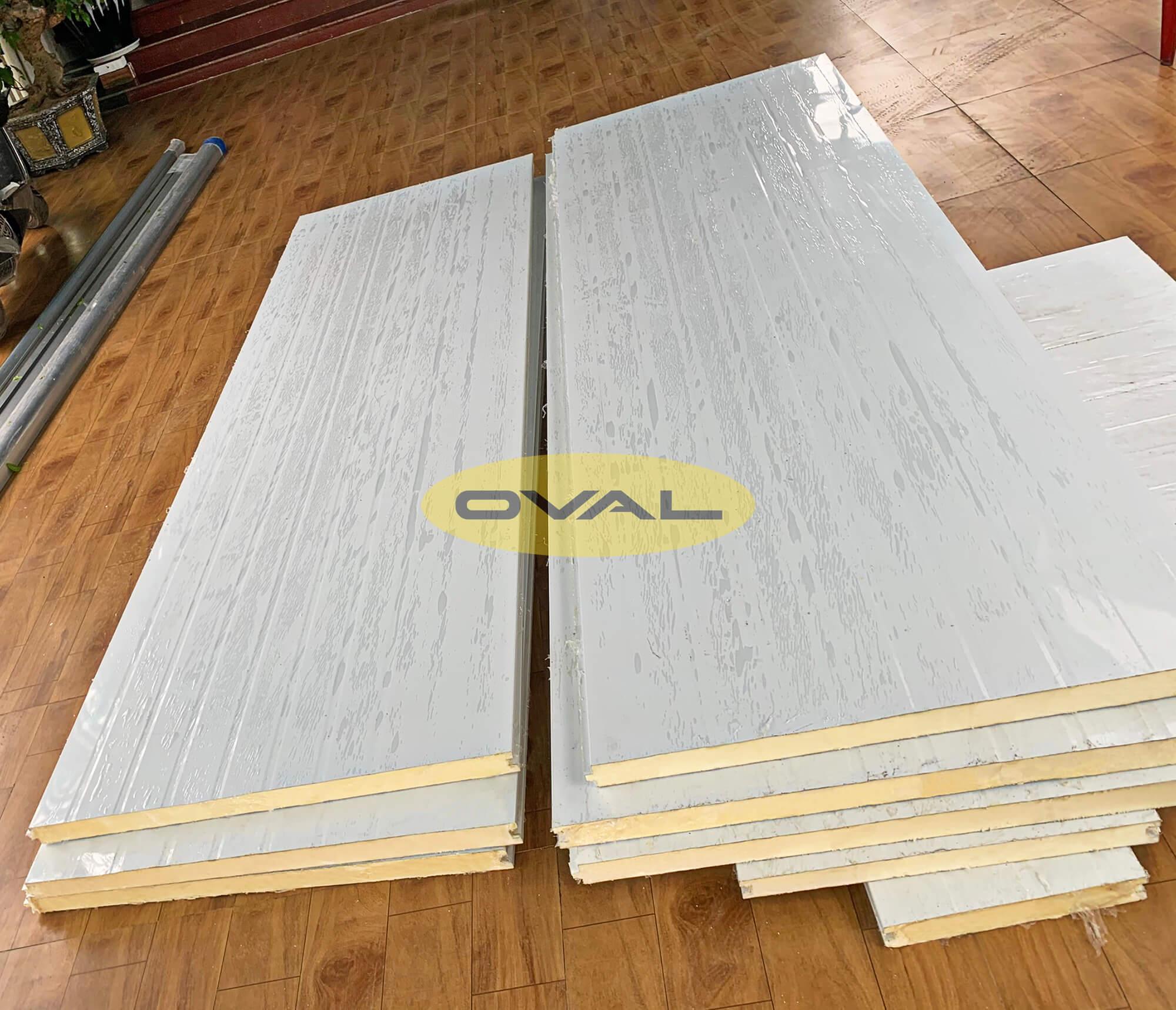 Bảng giá tấm panel Pu do Oval sản xuất