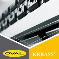 Oval hợp tác với hãng máy công nghiệp Krrass