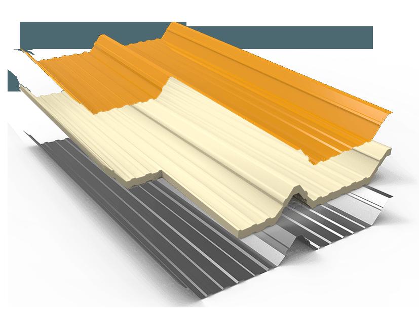 Oval VN sản xuất các loại tôn lợp theo dây chuyền tiên tiến của Nhật Bản