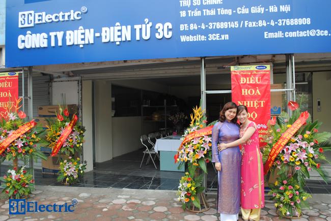 3C Electric khai trương showroom điều hoà nhiệt độ Reetech